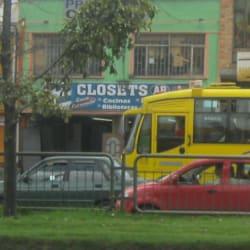 Closet's Calle 39A en Bogotá
