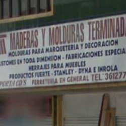 Maderas y Molduras Terminadas en Bogotá