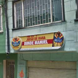 Juego de Rana Donde Manuel en Bogotá