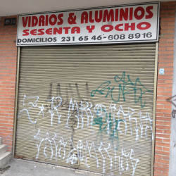 Vidrios y Aluminios Sesenta y Ocho en Bogotá