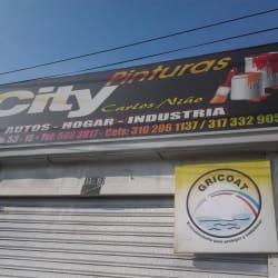 City pinturas Carlos Niño en Bogotá