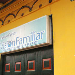 Centro Óptico Visión Familiar en Bogotá