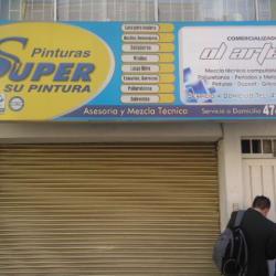 Pinturas Super Carrera 60 con 2C en Bogotá