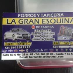 Forros y Tapicería La Gran Esquina en Bogotá