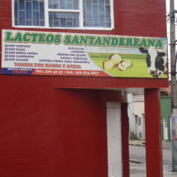 Lácteos Santandereana en Bogotá