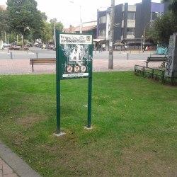 Parque Quinta Camacho Carrera 11 en Bogotá