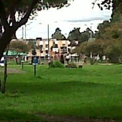 Parque en la Urbanización Lombardía en Bogotá