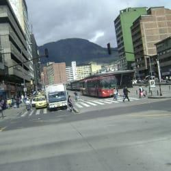 Estación Avenida Jiménez en Bogotá