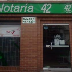 Notaría 42 - Calle 85 en Bogotá