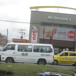 McDonald's Avenida 1 de Mayo con 68 en Bogotá