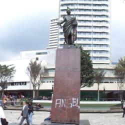 Parque Santander en Bogotá