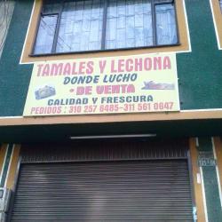 Tamales y Lechona Donde Lucho en Bogotá