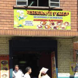 Restaurante De Alejo en Bogotá