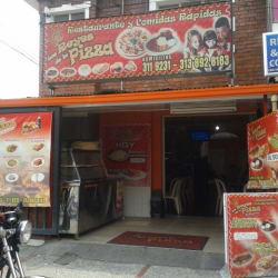 Los Reyes de la Pizza en Bogotá