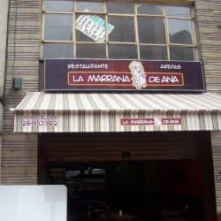 La Marrana de ana en Bogotá