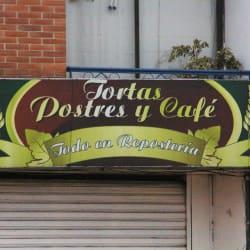 Tortas Postres y Café en Bogotá
