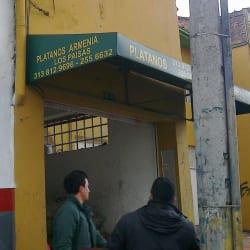 Plátanos Armenia Los Paisas en Bogotá