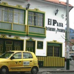 El Paisa Restaurante y Pescadería en Bogotá