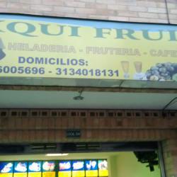 Exqui Fruit en Bogotá