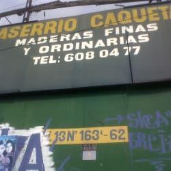 Aserrio Caqueta en Bogotá