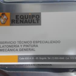 Equipo Renault en Bogotá