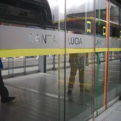 Estación Santa Lucía en Bogotá