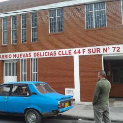 Salón Comunal Nuevo Delicias en Bogotá