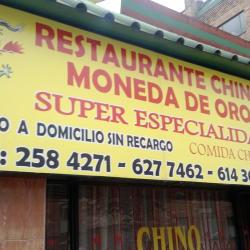 Restaurante Chino Moneda De Oro Carrera 13 en Bogotá