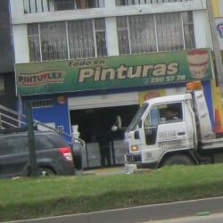 Pinturas Avenida 68 en Bogotá
