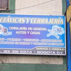 Metálicas y Cerrajería  en Bogotá