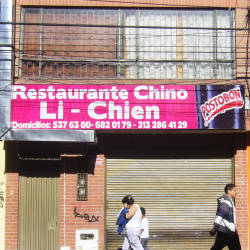 Restaurante Chino Li Chien en Bogotá