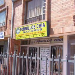 Tornillos Chía Racores en Bogotá