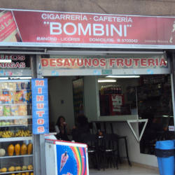 Cigarrería Cafetería Bombini en Bogotá