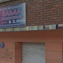 Ropa Interior Sama en Bogotá