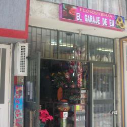 Floristería El Garaje de EU en Bogotá