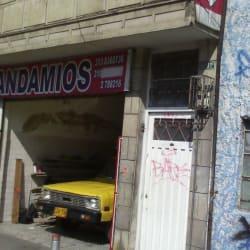 Andamios Avenida Caracas  en Bogotá