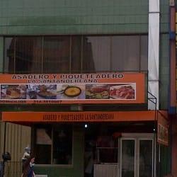 Asadero y Piqueteadero La Santandereana en Bogotá