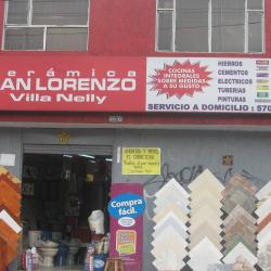 Cerámica San Lorenzo Calle 43 en Bogotá