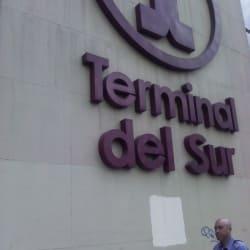 Terminal del Sur en Bogotá