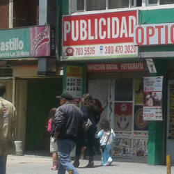 Publicidad Calle 72 en Bogotá