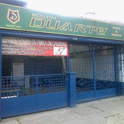 Bicicletas Duarte en Bogotá