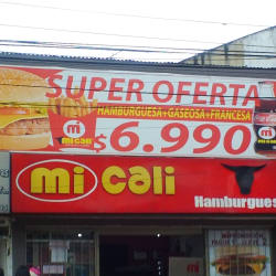 Mi Cali Hamburguesas  en Bogotá