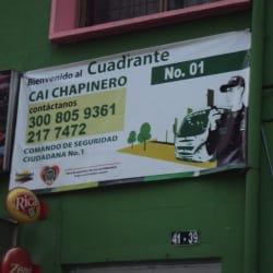 Cuadrante CAI Chapinero # 1 en Bogotá