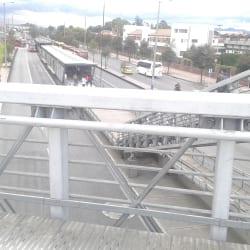 Estación Escuela Militar en Bogotá