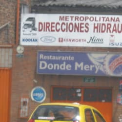 Restaurante Donde Mery en Bogotá