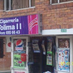 Cigarrería Tolima II en Bogotá