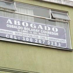 Abogado Osbaldo Bolagay Corredor  en Bogotá