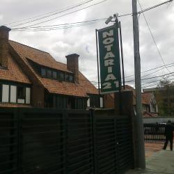 Notaría 21 - Calle 70A en Bogotá