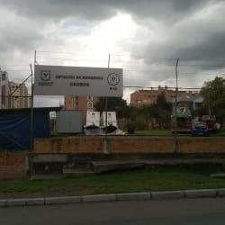 Estación de Bomberos Caobos B13 en Bogotá