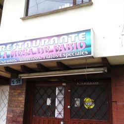 Restaurante La Mesa De Fabio en Bogotá